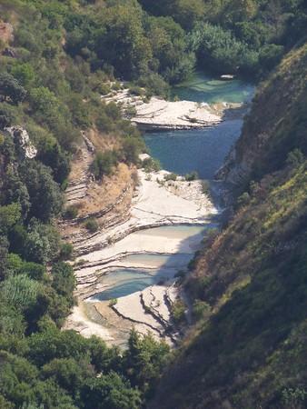 Ponds of Cavagrande, Avola, Sicily, Italy