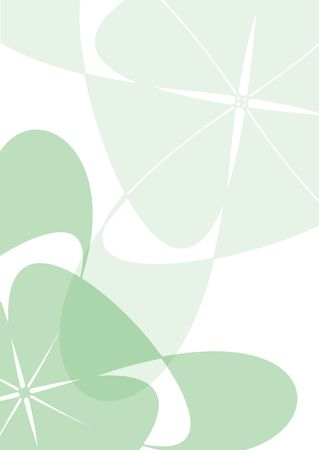 semi-transparent green background for A4 size paper Stock Photo