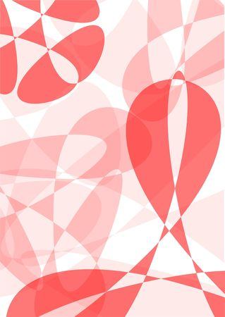 semi-transparent red background for A4 size paper Stock Photo