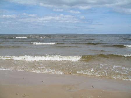 sea near the coast Stock Photo