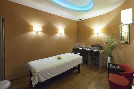 Massage room interior Stock Photo