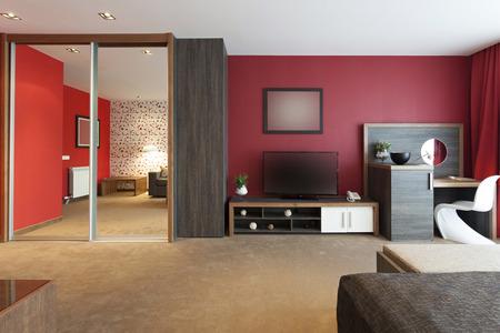 Moderne ruime woonkamer