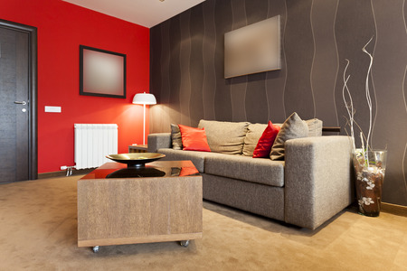Moderne Wohnzimmer Innenraum