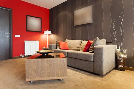 Moderne woonkamer interieur