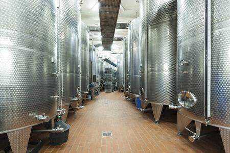 winemaking: Modern winemaking equipment