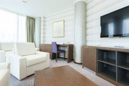 hotel suite: Luxury hotel suite living room