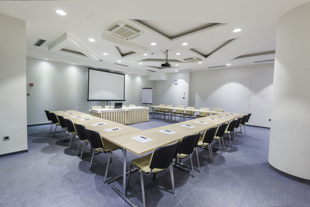 Modern conference room interior