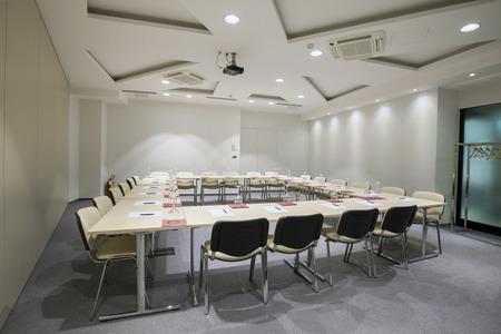 Moderne conferentieruimte interieur