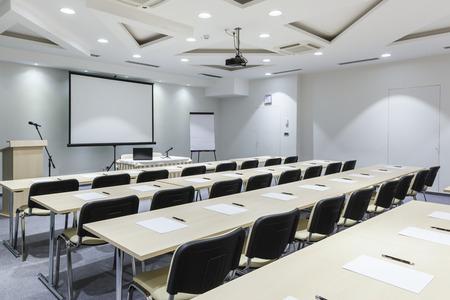 Modern lecture room Banco de Imagens
