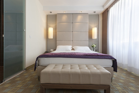 luxury bedroom: Luxury bedroom interior