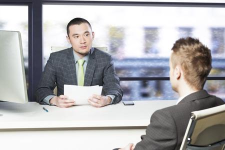 Job interview Banco de Imagens