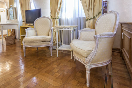 Elegant room interior photo