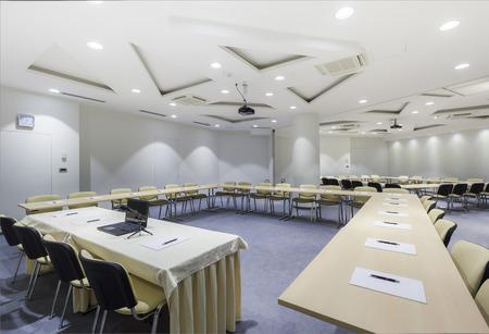 Interior Sala de reunión moderna
