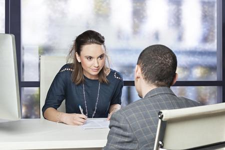 Job interview 스톡 콘텐츠