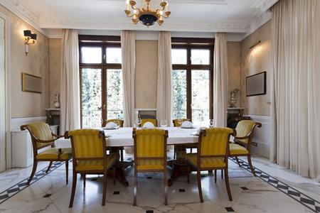 dining room: Fancy dining room interior