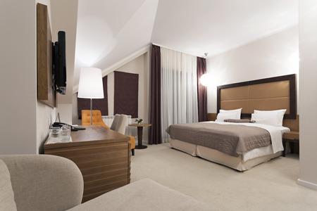 Modern hotel kamer interieur