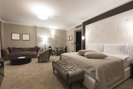hotel suite: Spacious hotel suite interior