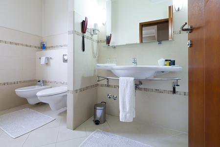 bathroom interior: Bathroom interior Stock Photo