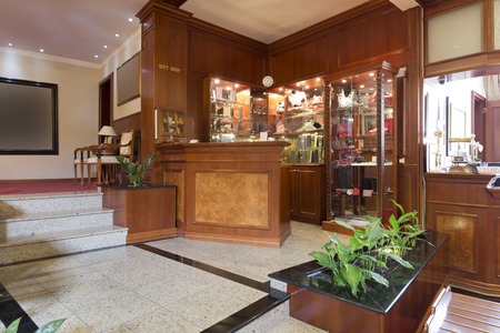 Gift shop in a hotel