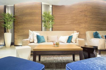 Elegante hotel lobby