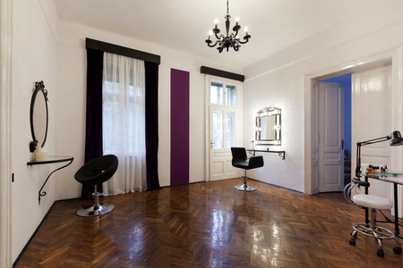 parlour: Beauty parlour interior Stock Photo