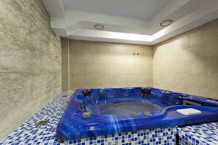 hydrotherapy: Hydromassage tub at spa center