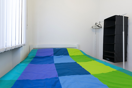 hostel: Single bed bedroom in hostel