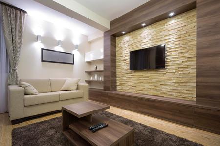 condominiums: Modern luxury apartment interior