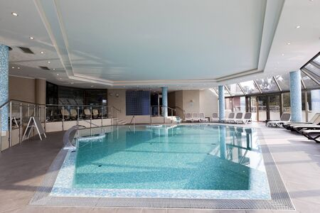 hydrotherapy: Indoors pool at spa