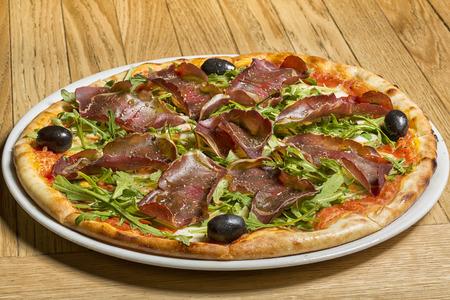 hams: Prosciutto y caseras de pizza