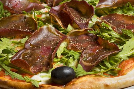jamones: Prosciutto y caseras de pizza