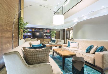 Elegante hotel lobby Stockfoto - 37042335