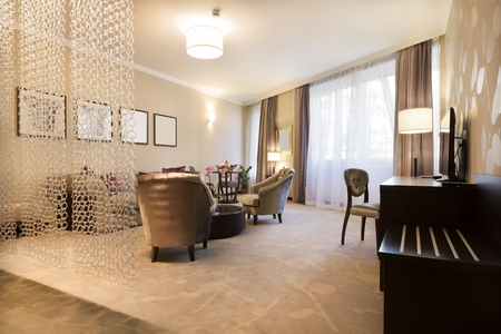 curtain design: Interior of an apartment