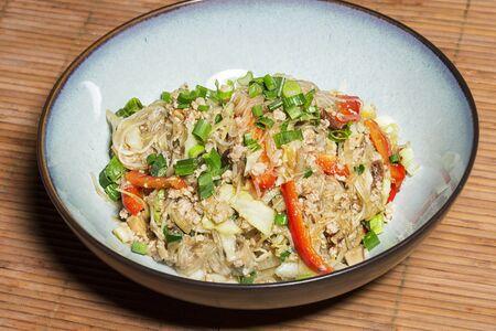 stir fry: Thai glass noodles stir fry