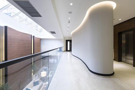 Corridor in een luxe hotel Stockfoto