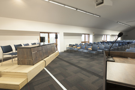 conference hall: Modern conference hall