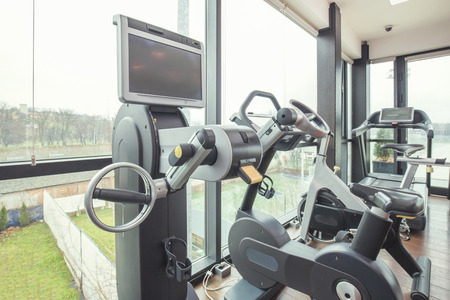 machines: Machines in modern gym