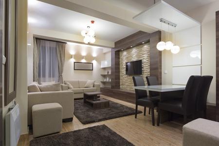 Modern luxury apartment interior