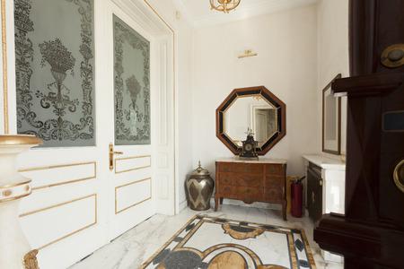 Luxury villa entrance hall