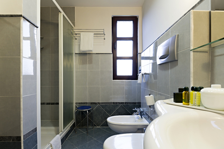 bathroom interior: Bathroom interior Stock Photo
