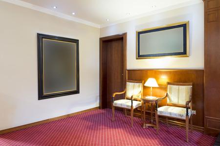 entrance hall: Elegant hotel suite entrance hall