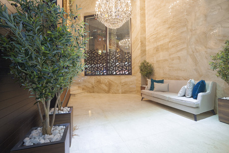 plant design: Luxury hotel lobby