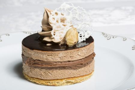 gateau chocolat: �l�gant g�teau au chocolat