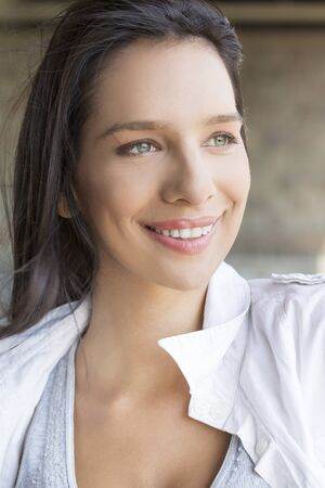 nautral: Portrait of a beautiful young woman Stock Photo