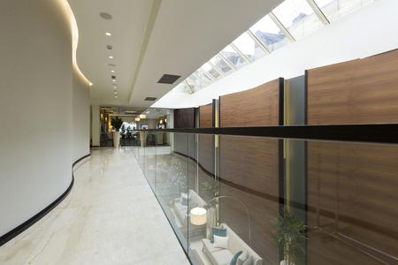 hotel building: Corridor in luxury hotel