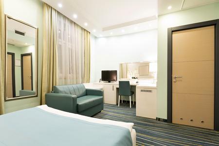 Elegant hotel room interior