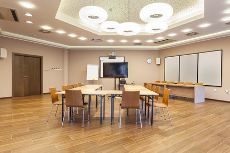 ceiling: Conference room interior