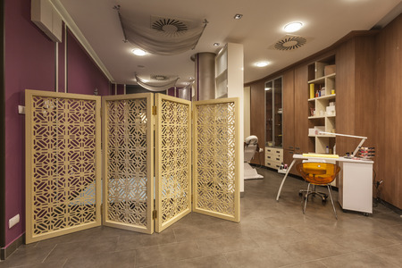 beauty parlour: Beauty parlour interior Stock Photo