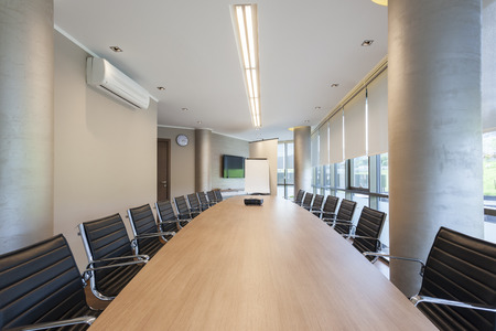 Modern conference hall interior