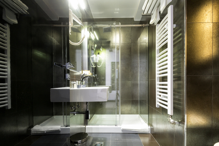 bathroom interior: Elegant bathroom interior
